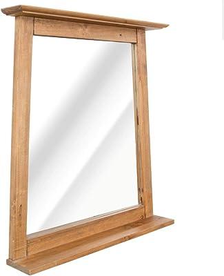 Espejo de pie de Madera MDF Beige nórdico para Dormitorio de ...