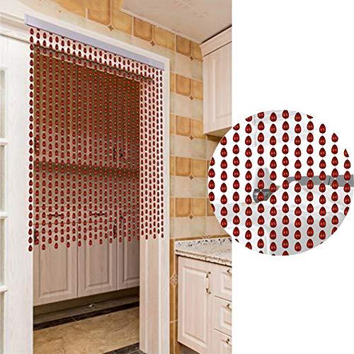 GDMING Parelgordijn, deur-draadgordijn, decoratief paneel, scherm, interieurverdeler, deuropening, balkon, aanpasbaar