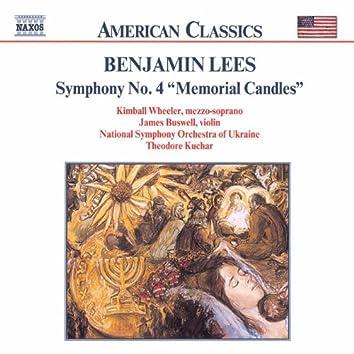 LEES: Symphony No. 4, 'Memorial Candles'