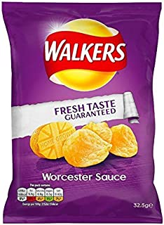 worcester sauce flavour crisps