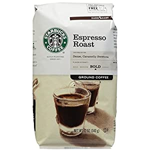 Starbucks Espresso Ground Coffee 12oz