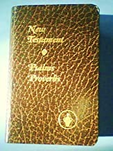 New Testament OUR Lord and Savior Jesus Christ - With Psalms and Proverbs [Pocket Bible] (THE GIDEONS INTERNATIONAL)
