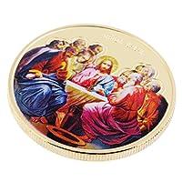 T TOOYFUL ジーザスメタル栄誉メダル記念コイン玩具コレクションカーフト