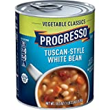 Progresso Vegetable Classics Tuscan-Style White Bean Soup 18.5 oz. Can
