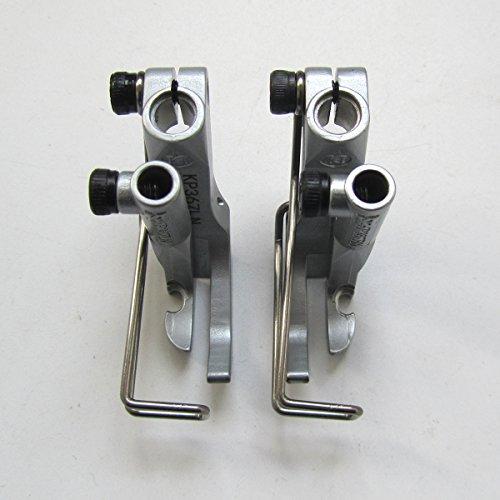 KUNPENG - # KP367-LN+KP367-RN 2 Set Right&Left Zipper Foot FIT for Adler 367, 467, 669,767 Sewing Machine