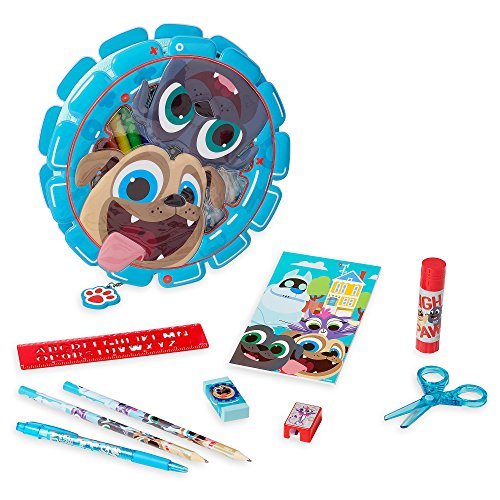 Estojo Disney Puppy Dog Pals Zip-Up Stationery Kit