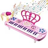 Shayson Piano for Kids, 37 Key Multi-function Electronic Keyboard Play Piano Music Instruments Toys with...