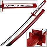 Deep Red Anime Fantasy Sword Akame Japanese Katana Replica