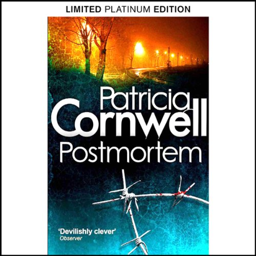 Postmortem audiobook cover art
