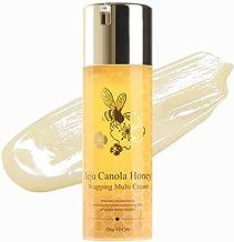 Korean Skin Care - The YEON Jeju Canola Honey Wrapping Multi Cream (100 ml/Net wt. 3.38 oz) - Intensely moisturizing