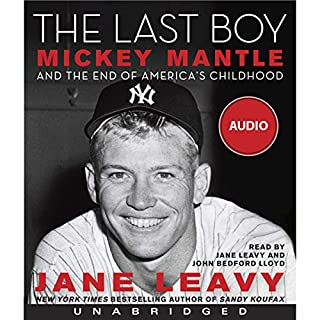 The Last Boy audiobook cover art