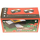 AUTOMATIC CARD SHUFFLER BATTERY OPERATED LEVER FOR SHUFFLE by PRIME FURNISHING