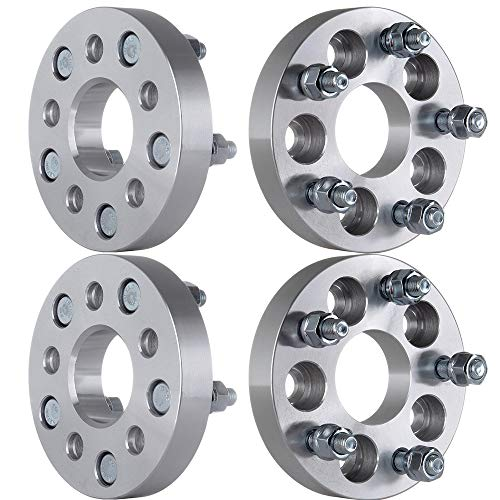 OCPTY Replacement Parts Compatible with 4X 1 5x100mm to 5x112mm Wheel Spacers Adapters 12x1.5 57.1 for Chrysler Lebaron Dodge Spirit Daytona Dynasty