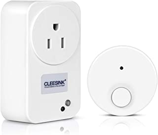 CLEESINK Wireless Garbage Disposal Switch, No Batteries Required, No Wiring, Self-Powered Wireless Air Switch for Waste Disposer