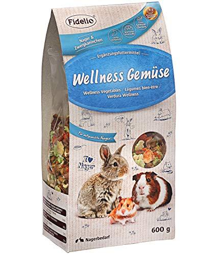 Fidelio Nagersnack, Zwergkaninchensnack, Wellness-Gemüse, 600 g