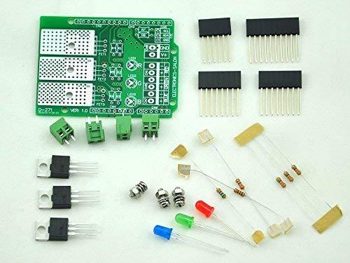 CZH-LABS RGB [んだ付けが必要] Arduino UNO/meag用調光器シールドキット主導しました ArduinoのDIYのために
