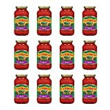 Tuttorosso Meat Pasta Sauce, Traditional Meat Sauce, Gluten Free, 24 Ounce Jars, 12-Pack