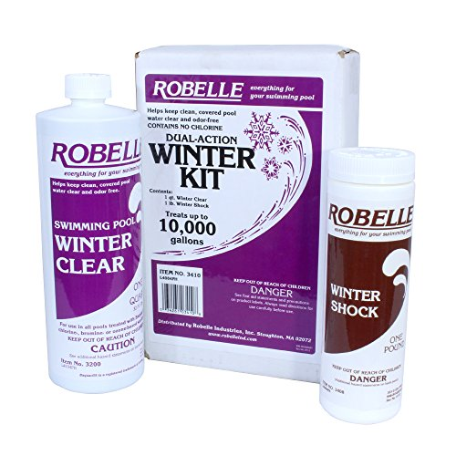 Robelle 10,000 Gallon Dual-Action Winter Kit