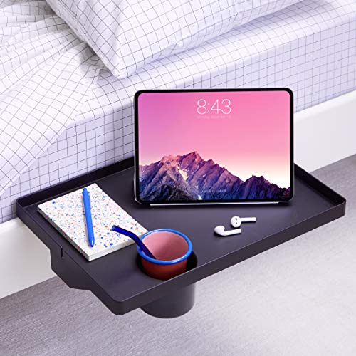 BedShelfie Essential Bedside Shelf with Cupholder and Bunk Bed Shelf 4 Colors / 7 Styles As Seen On Business Insider for…