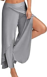 Bebling Pantalones de harén para Mujeres Pantalones de chá