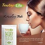 Detox products Dandelion Root Tea Skinny Mint Teatox Detox Tea with Ginger, Red Clover, Senna |