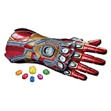 Avengers Marvel Legends Series Iron Man Nano Gauntlet Articulated Electronic Fist with Lights and Authentic Movie Sounds and Removable Infinity Stones