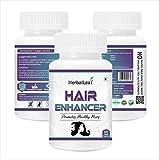 HerbalLeaf Hair Enhancer with Brahmi | Amla | Bhringraj for Healthy Hairs |