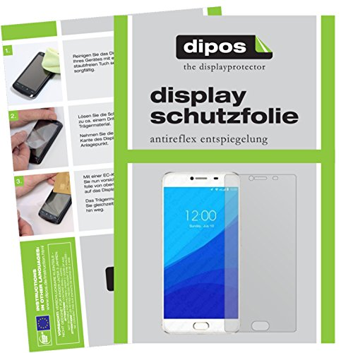 dipos I 2X Schutzfolie matt kompatibel mit Umidigi Z Pro Folie Bildschirmschutzfolie