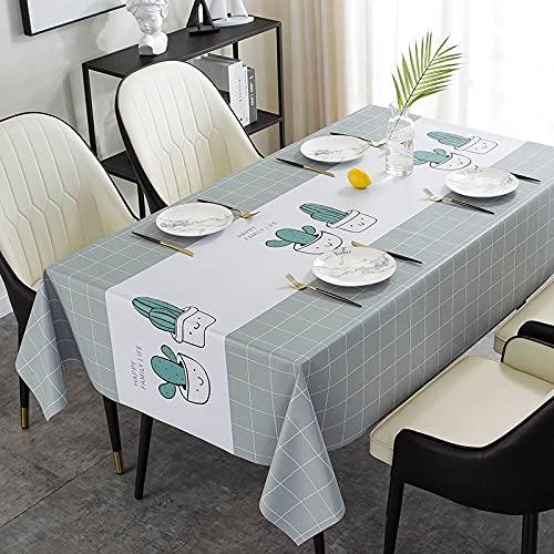 sans_marque Paño de mesa, anti-derrame y anti-pliegue cubierta de tabla suave, utilizado para la decoración de mesa de la cocina 110* 160cm