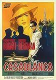 Casablanca,Metal Sign,Retro,Movie Poster Vintage Aluminum