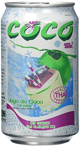 Coco Oriental Drinks Kokos & Fruchtfleisch, 24er Pack (24 x 310 ml)