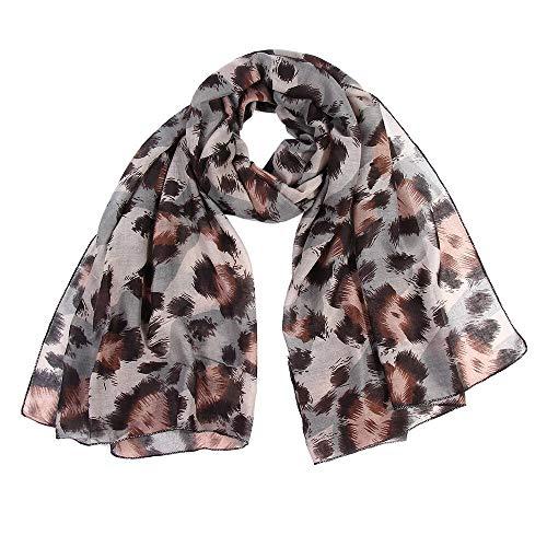 HVTKL KANCOOLD herfst femme zijde mode bandana op het hoofddoek dames luipaard print wrap sjaals hoofdband zachte sjaal lange S10 SE27 kerstversiering opruiming sjaal vrouwen kerstgesch