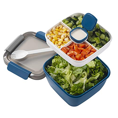 Best Deals! Freshmage Salad Lunch Container
