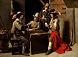 Louis Le Nain – Soldiers Playing Cards (Soldats Jouant