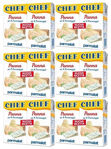 Parmalat Panna Chef ai 4 Formaggi (6 x 2 x 125ml)