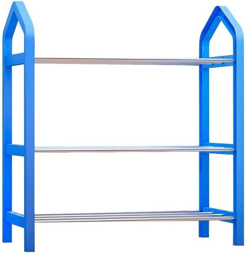 In a popularity KMMK Simple Shoe Rack Storage Household Multi-Layer famous Cabinet