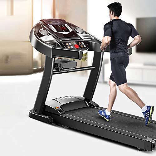 COKECO Profi Laufband Einstellbare Geschwindigkeit, LCD-Kalorienzähler, Maximale Belastung 100 Kg, Mit Sicherheitsarmlehne, Ultradünn Und Leise, Geeignet Für Zuhause/Büro
