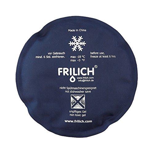 Seltmann Weiden Frilich Kühlkissen Unison rund, blau Buffet-Gourmet Weiss Uni 00006
