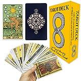 MIRIYAN Tarot Cards Deck with Original Pamela Colman Smith Artwork   This Rider Waite Tarot Deck is a Classic Tarot Card Set for Beginners and Experienced Readers