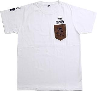 exactly Tシャツ メンズ 半袖 綿 おおきいサイズ無地トップスインナー白全3色