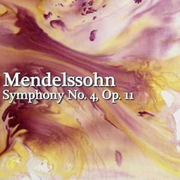 Mendelssohn Symphony No. 4, Op. 11