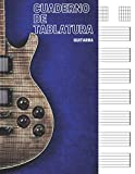 Cuaderno de tablatura guitarra: 7 tabs por página. Ideal para músicos, estudiantes de guitarra, profesores de musica (110 páginas, A4). Libreta, Cuaderno tablaturas, Cuaderno de musica para guitarra.