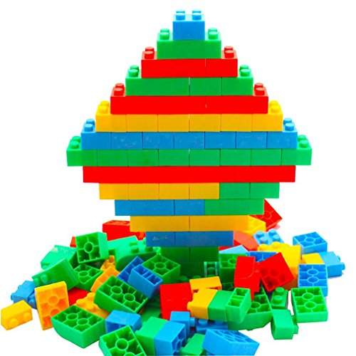 MICHLEY 70pcs Connecting Toys for Toddlers Building Blocks for Kids children Educational Bricks Compatible