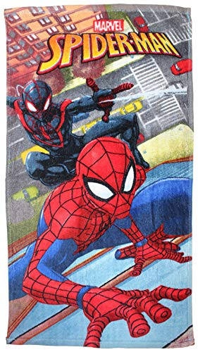 Marvel disi FTB 89999Spiderman 3niños Toalla