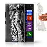 Hülle Für Nokia Lumia 730 Zoo-Tiere Eidechse Design