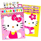 Hello Kitty Coloring Book and Stickers ~ 96 pg Coloring Book and Over 80 Hello Kitty Stickers plus Bonus Stickers
