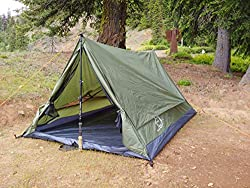 in budget affordable Trekker Tent 2.2, Camping Tent for 2 with Stick-Green