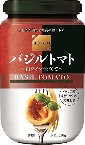 日本製粉 レガーロ バジルトマト 320g