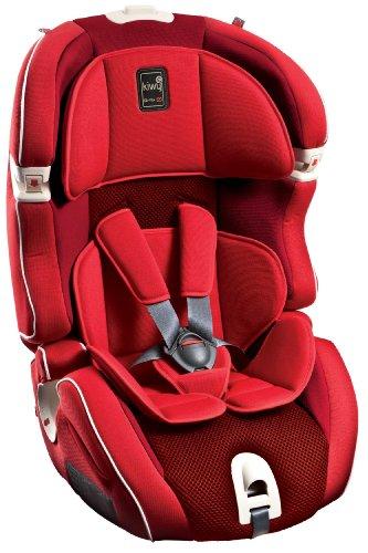 Kiwy 14103KW02B Child Car Seat Group 1/2/3with Isofix 9-36kg Cherry