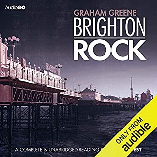 Brighton Rock                   By:                                                                                                                                 Graham Greene                               Narrated by:                                                                                                                                 Samuel West                      Length: 9 hrs and 9 mins     755 ratings     Overall 4.2
